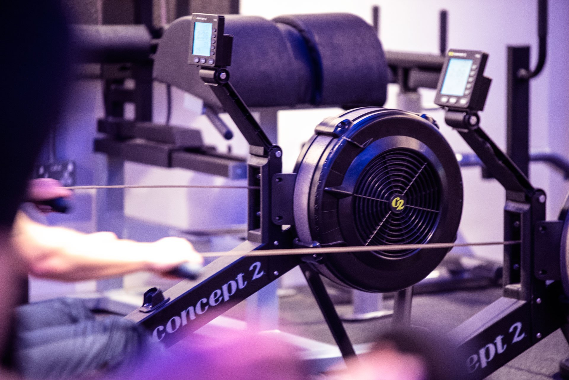 Equilibrium Gym & Fitness Rower