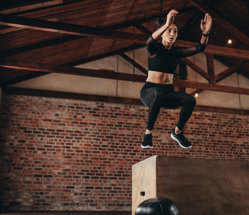 Equilibrium Gym & Fitness Gauntlet Box Jumping