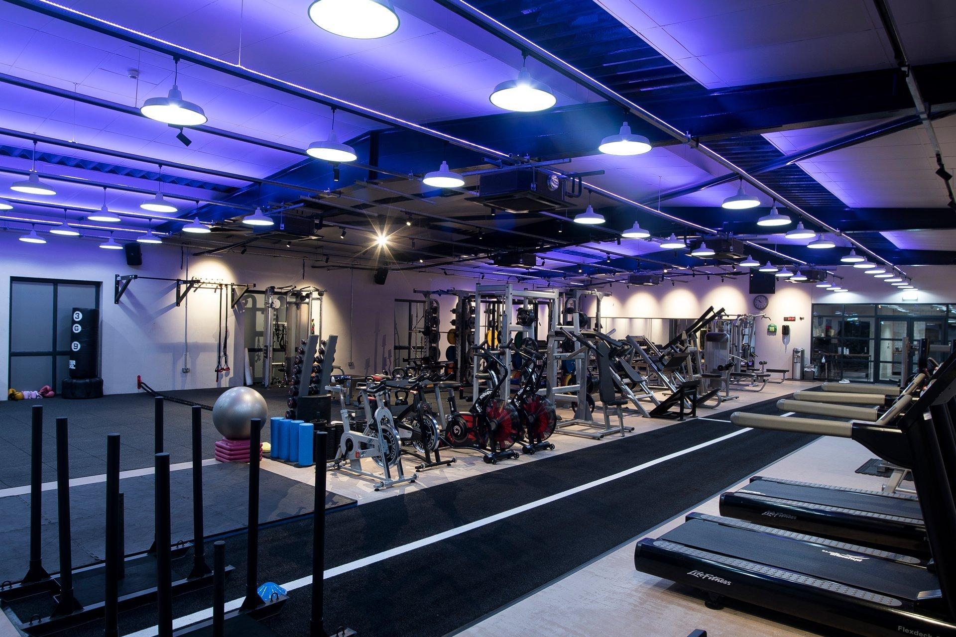 Equilibrium Gym & Fitness Interior