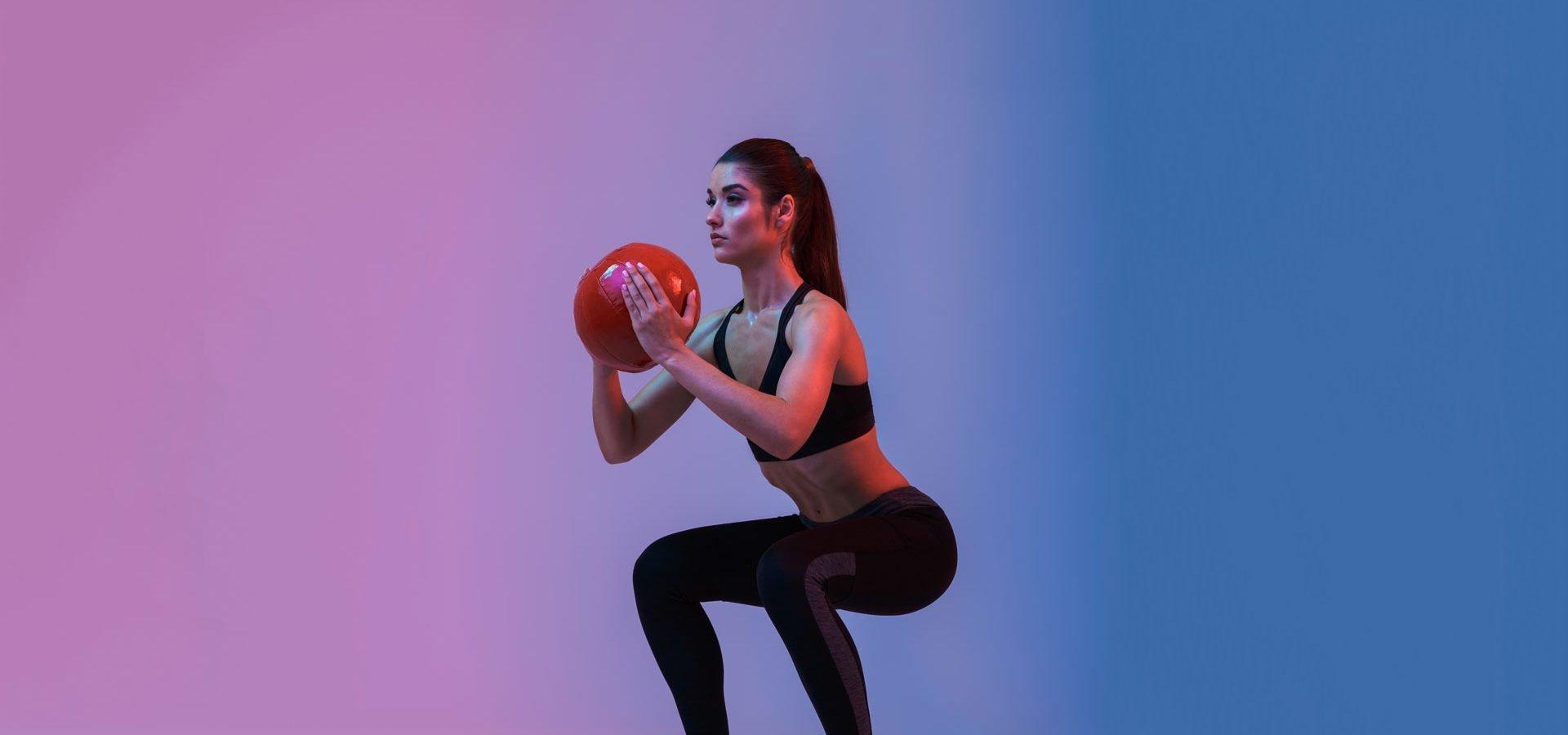 Equilibrium Gym & Fitness Shape Goblet Squat